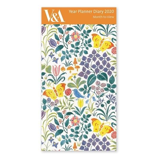Museums & Galleries Spring Flowers 2020 Year Planner