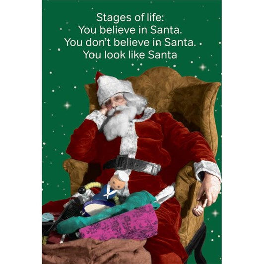 Believe In Santa Card