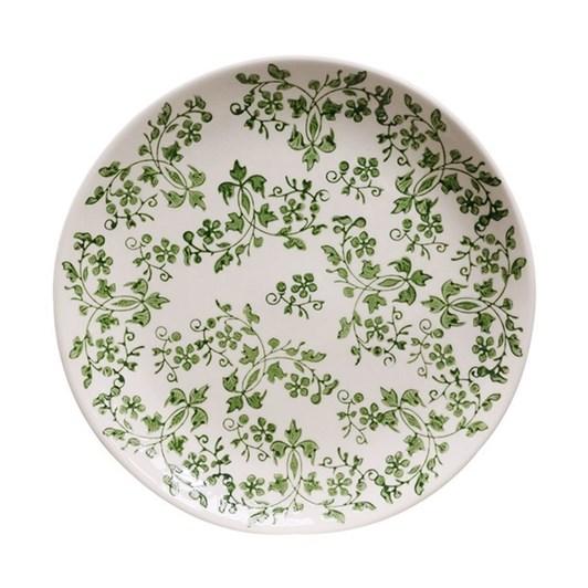 CC Interiors Florentine Verde Handpainted Plate