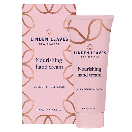 Linden Leaves Clementine & Basil Nourishing Hand Cream 100ml