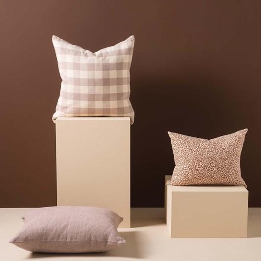 Citta Pippa Woven Cushion Cover Thistle/Nougat 50x50cm