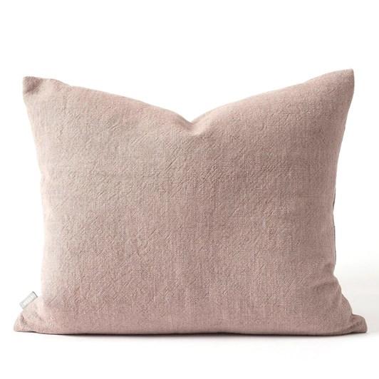 Citta Linen Blend Cushion Cover Thistle 55x45cm