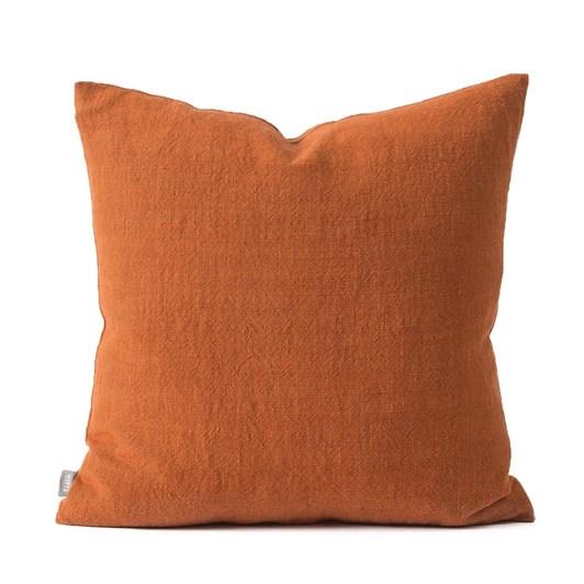 Citta Linen Blend Cushion Cover Chestnut 50x50cm