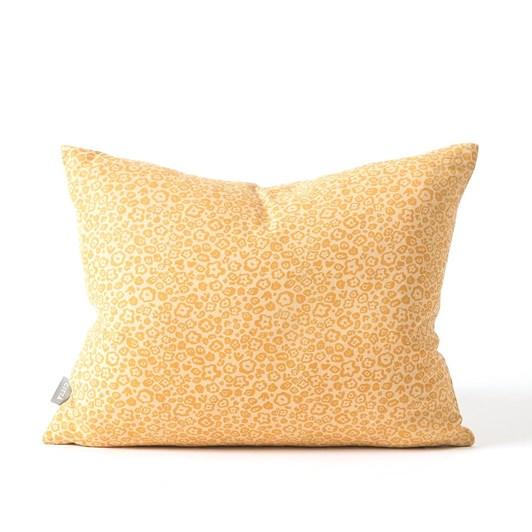 Citta Flora Cushion Cover Mango/Dijon 45x35cm