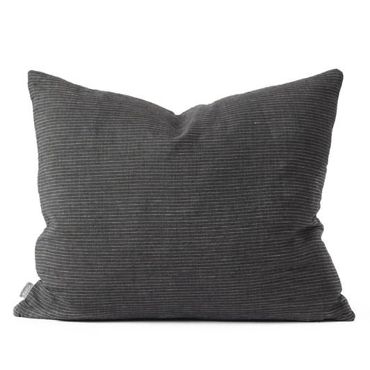 Citta Linea Woven Cushion Cover Pepper/Natural 55x45cm