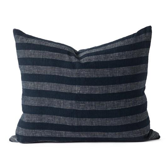 Citta Shima Woven Cushion Cover Midnight 55x45cm