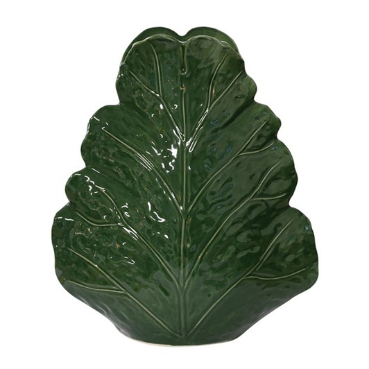 CC Interiors Large Sculptured Leaf Vase