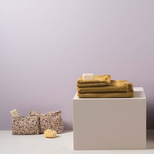 Citta Jacquard Bath Sheet Citron  90x160cm
