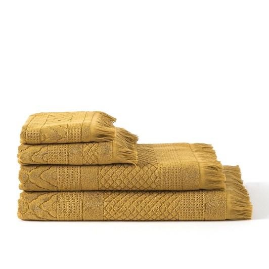 Citta Jacquard Hand Towel Citron  50x70cm
