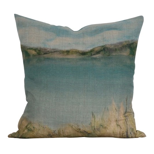 CC Interiors Island Summer Linen Cushion 50x50