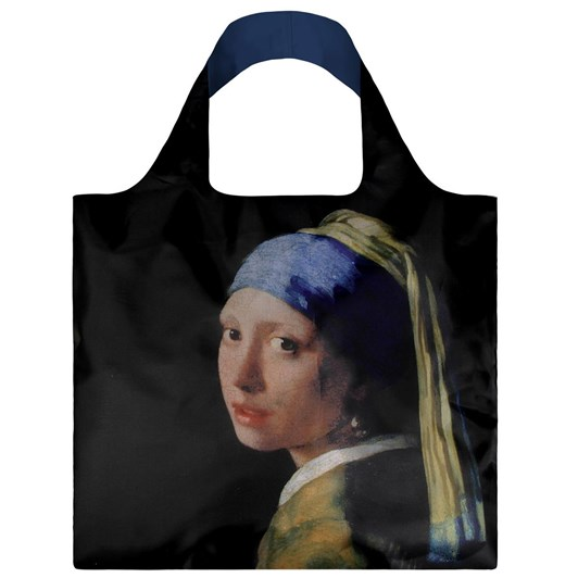 LOQI Museum Girl With A Pearl Earring Shopping Bag
