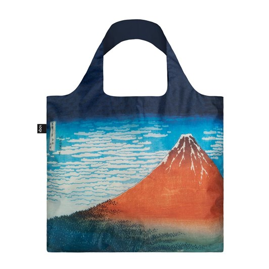 LOQI Museum Red Fuji Shopping Bag