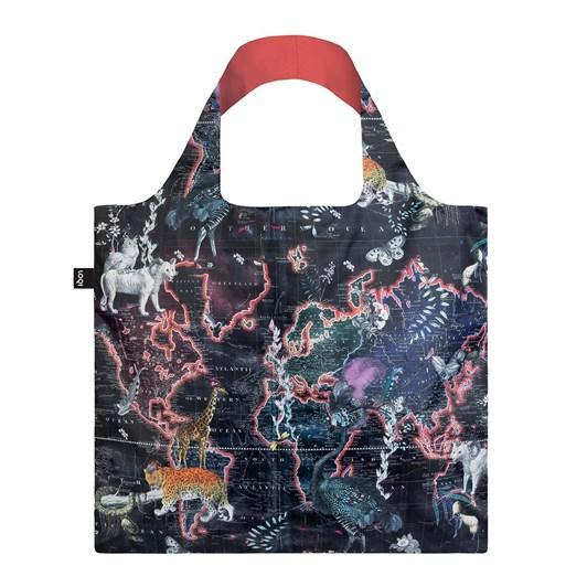 LOQI World Map Shopping Bag