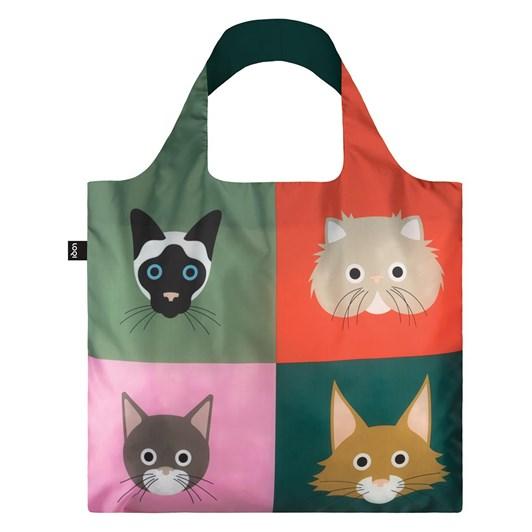 LOQI Cats Shopping Bag