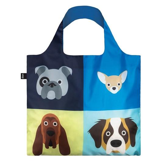 LOQI Dogs Shopping Bag
