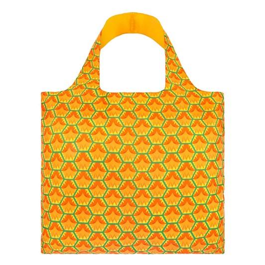 LOQI Frutti Pineapple Shopping Bag
