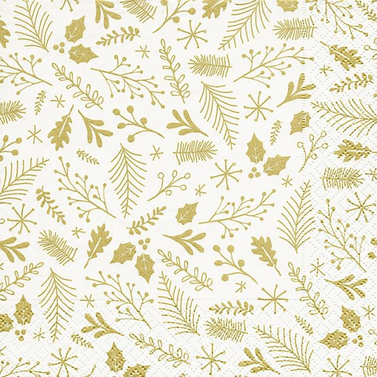 Twigs And Leaves Luncheon Napkins