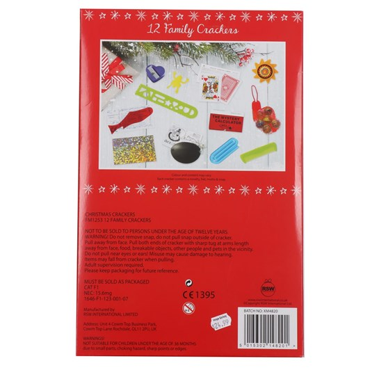 """Image Gallery Family Crackers 12X12"""" Red Holly"""
