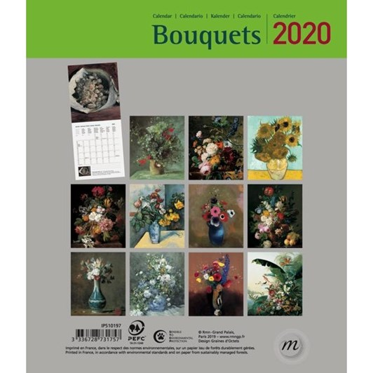 Vevoke 2020 Mini Calendar - Bouquets
