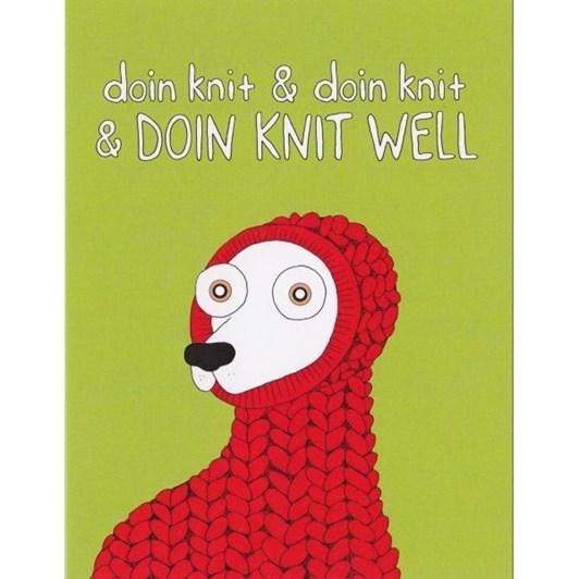 Vevoke Card-Doin Knit Well