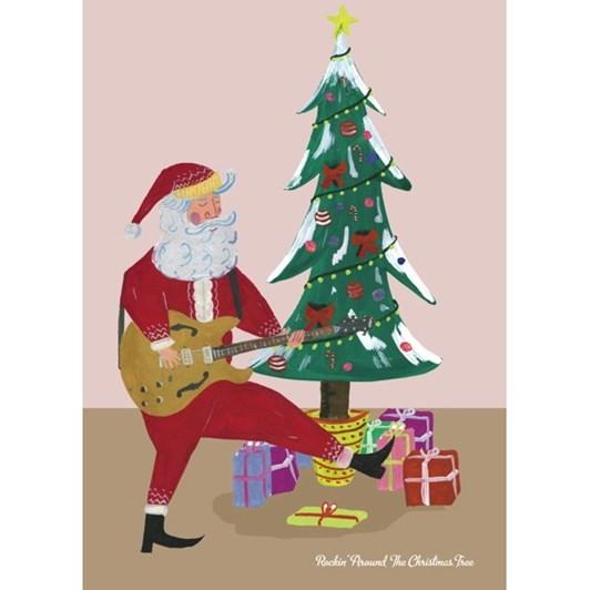 Vevoke Card-Rockin Santa