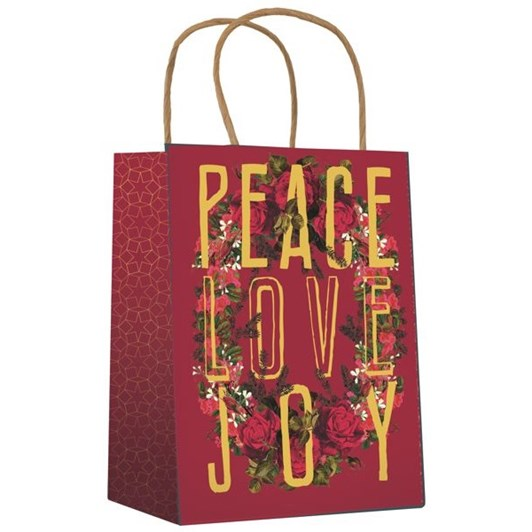 Vevoke Gift Bag-Peace Love Joy
