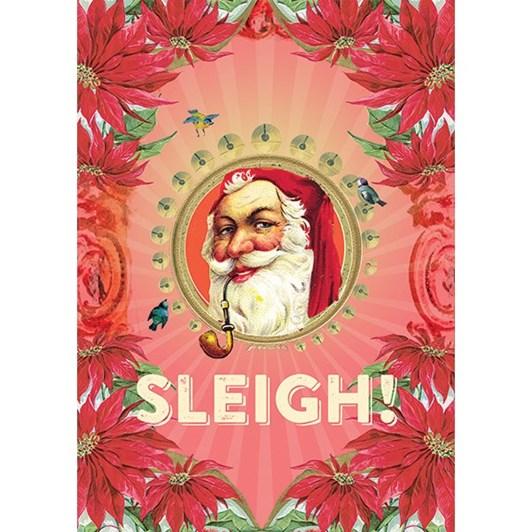 Vevoke Foil Card-Santa Sleigh