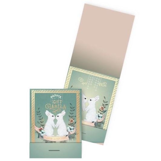 Vevoke Labels-Holiday Bunnies