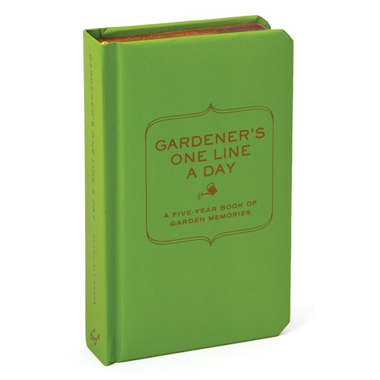 Gardeners One Line A Day A Five Year Book Of Garden Memories