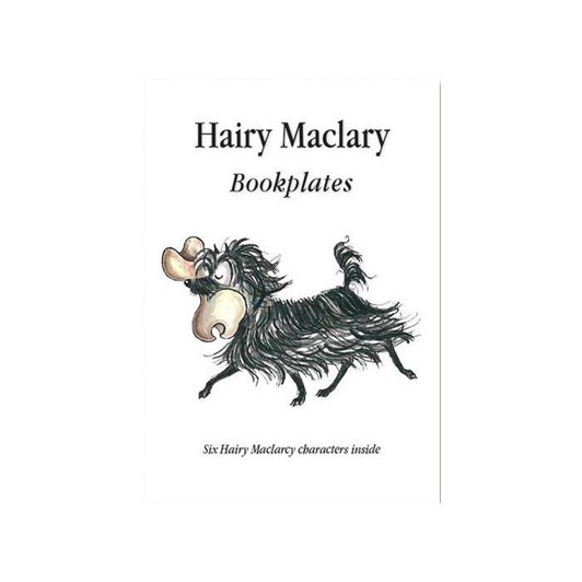 Hairy Maclary Bookplates Six Characters