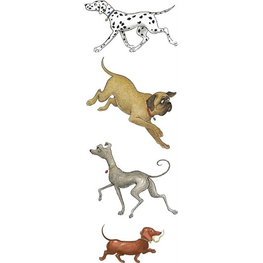 Hairy Maclary Four Types Of Dog Bookmark