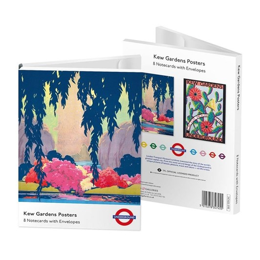 Museums & Galleries Kew Garden Posters Notecards 4 X 2