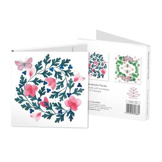 Florals Dee Hardwicke Notecard Set 4 X 2