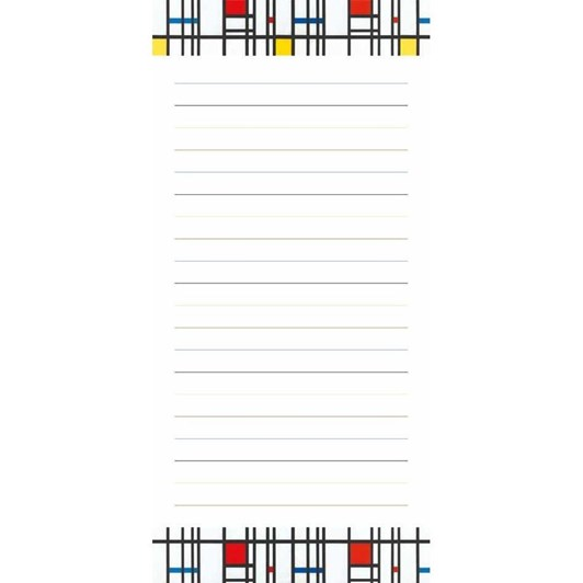 Museums & Galleries Mondrian Magnetic Pad - Todo