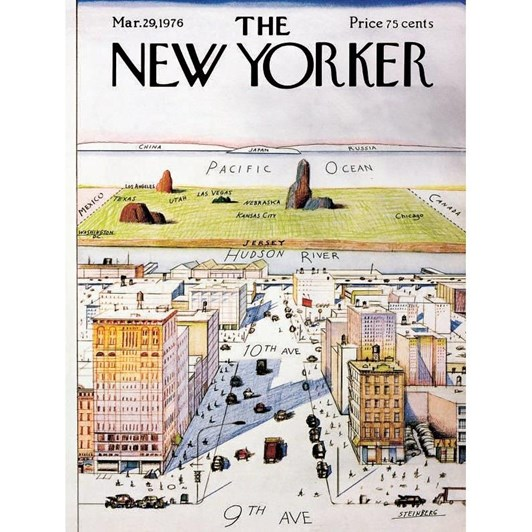 New York Puzzle Company View Of The World 1000 Piece Puzzle