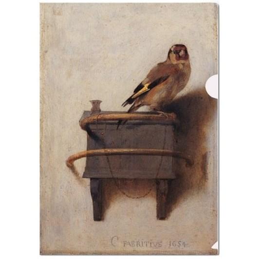L-Folder Het Puttertjethe Goldfinch Carel Fabritius Maur