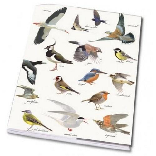 Cahier A5 Collage Vogels Elwin Van Der Kolk Vogelbescher