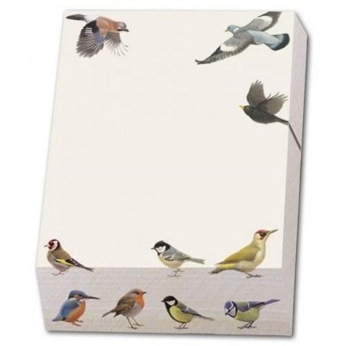 Noteblock Vogels Elwin Van Der Kolk Vogelbescherming Nede
