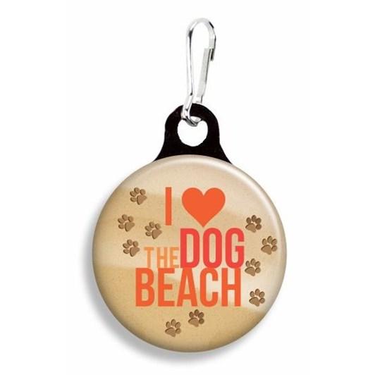 Franny B Good I Love Dog Beach Collar Charm