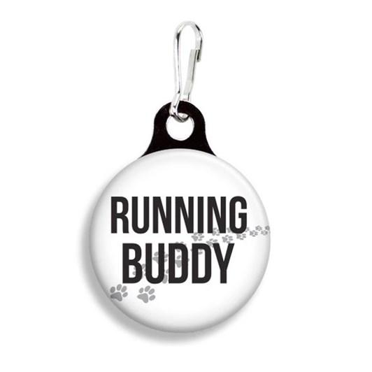 Franny B Good Running Buddy Collar Charm