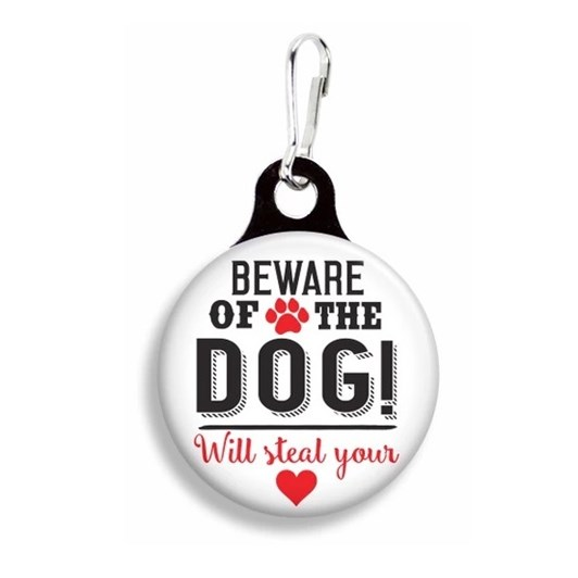 Franny B Good Beware Of The Dog Collar Charm