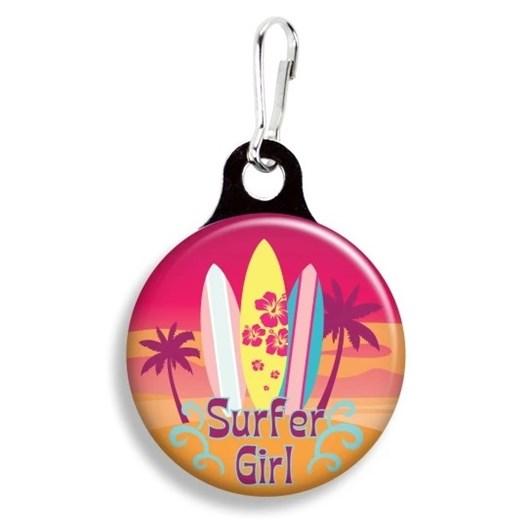 Franny B Good Surfer Girl Collar Charm