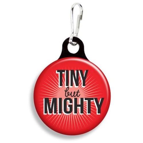 Franny B Good Tiny But Mighty Collar Charm