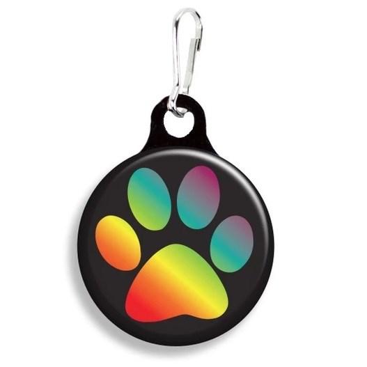 Franny B Good Rainbow Paw Collar Charm