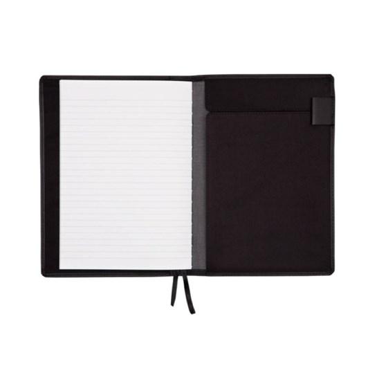 Vevoke A6 Notebook With Leather Jacket-Black