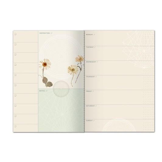 Vevoke Dateless Planner-Flower Child