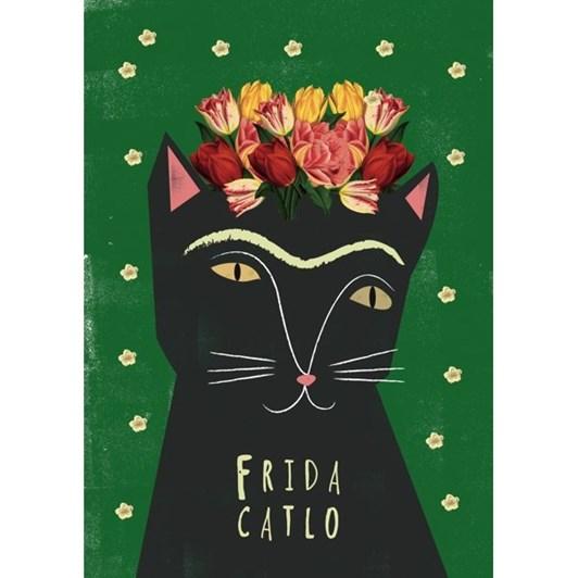 Vevoke Card-Frida Catlo