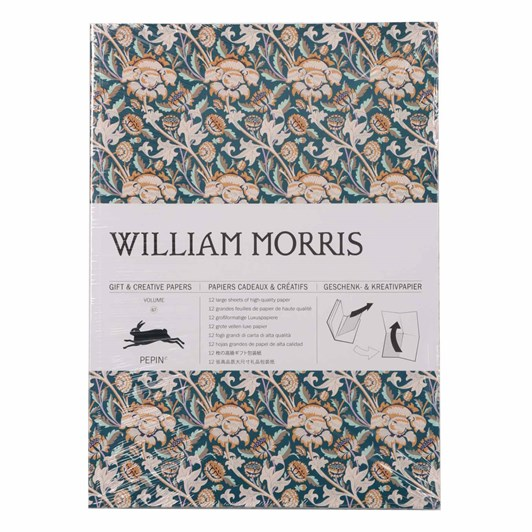 Vevoke Gift And Creative Papers Book-William Morris