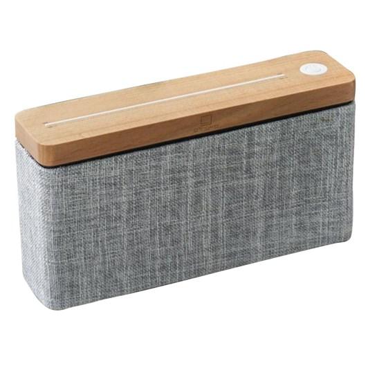 Gingko Hi Fi Square Bluetooth Speaker Natural Maple Wood