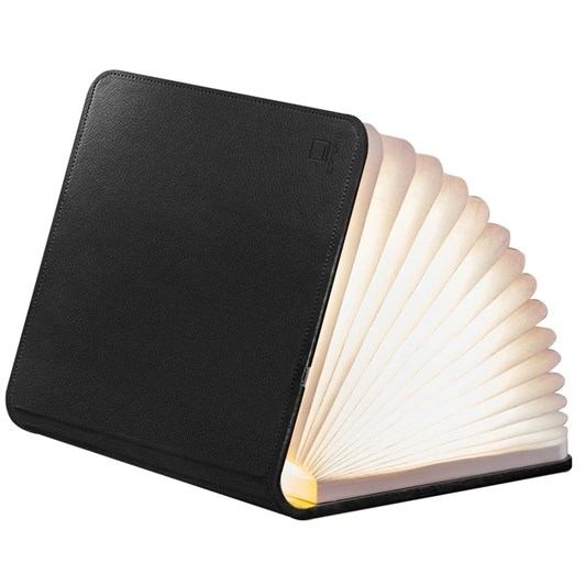 Gingko Leather Smart Book Light Large Black Leather